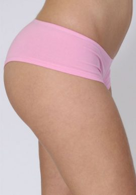 Ladies Lot Of 2 Baby Pink Perfect Fitted Panties