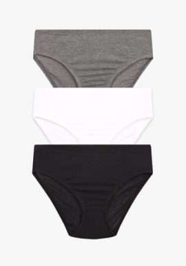 Pack Of 3 Pure Cotton Cool Comfort Panties