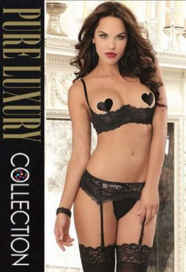Snazzyway Open Cup Extreme Temptation Garter Intimates