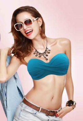 Victoria's Secret Plus Size Sea Blue Multiway Bra