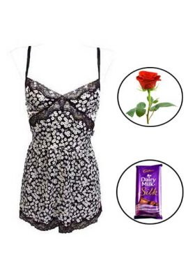 D&G Floral Chemise Nightie Gift For Her
