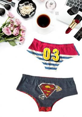 Secret Possessions Cool Bold Print Pk Of 2 Hipster Panty