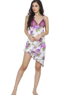 Snazzyway New Floral Print Lovely Babydoll