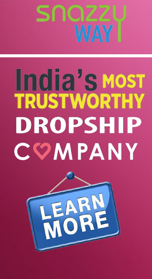 list of dropshippers in india snazzyway