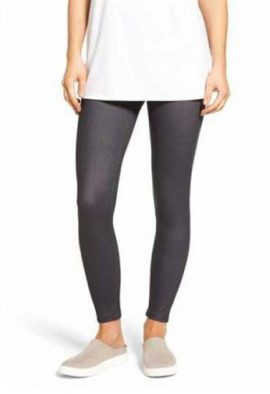 Duparc Grey Low Rise Ankle Length Legging