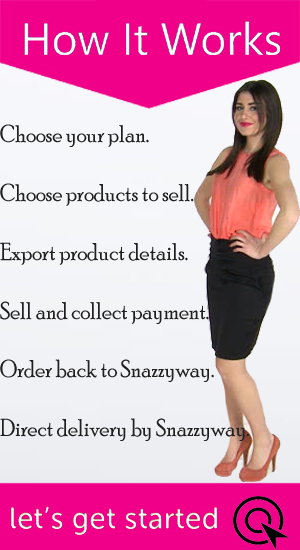 How it works Snazzyway dropshipping