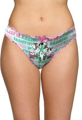 Disney Happy Sleepy Print Trimmed Lace Panty