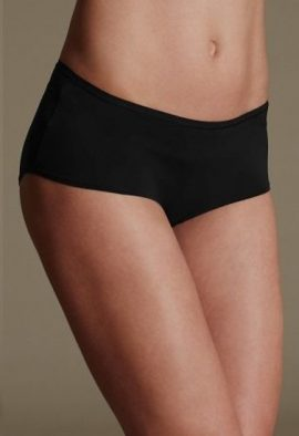 Holeproof Black Very Soft & Smooth Knickers