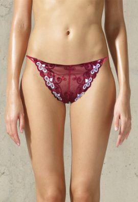 Ladies Stunning Pk Of 2 String Waistband Panties
