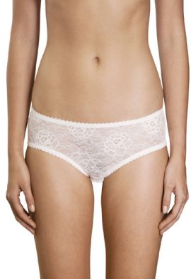 Marks & Spencer Flirty White Floral See Through Panty