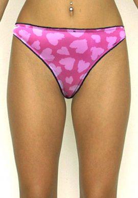 New LA Senza XS Size Pink Thong Panty