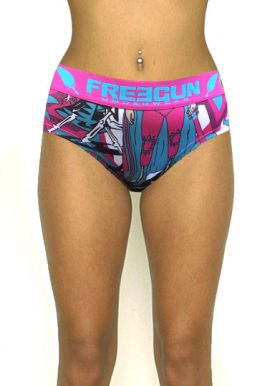 Freegun Underwear Wide Elastic Printed Hipster Brief