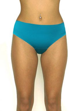 Buy Now Turquoise Completely Seamless Bikini Bottom