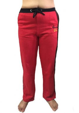 Fashion Girl Red Stylish Stretch Fit Track Pant