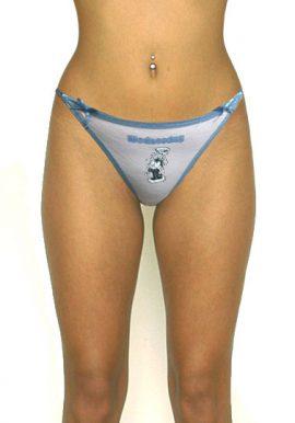 Female Medium Low Waist Cotton String Thong