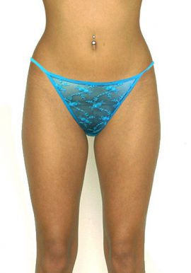Next Ultra Thin Floral Fishnet See Through G-String