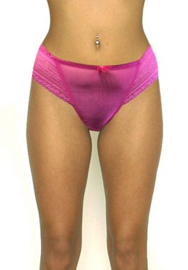 Pleasure State Sexy Lace Non Trace Soft Thong Panty