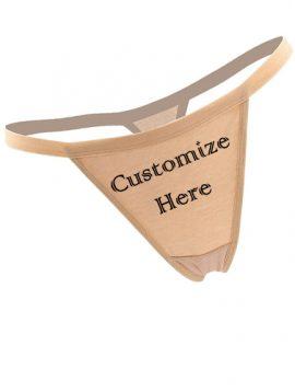Customize Design Cotton Seamless String Thong