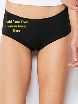 Personalize Your Own Style Cotton Boyshort Panty
