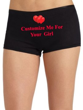 Cozy Waistband Boyshort- Customize For Your Girl