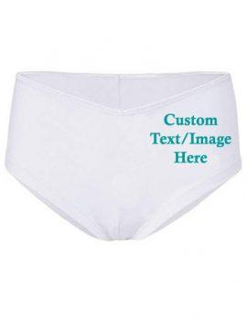 Customize This Cheeky Cotton Comfort Boyshort Undies