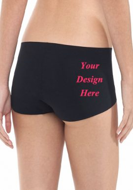 Your Own Custom Design Cotton Boyshort Panty
