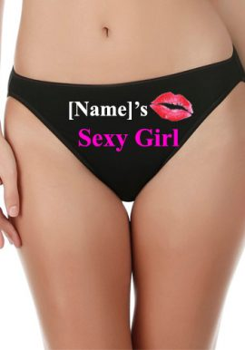 Customize Sexy Girl Cotton Mid Rise Underwear