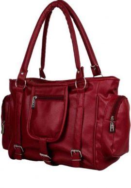 Maroon Cool Fit Satchel Shoulder Handbag