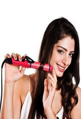 Maxel Hair Curler Cum Straightener(2 in 1)