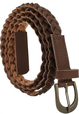 opular Streeze Braided Style Ladies Belt
