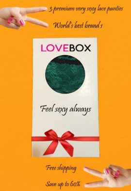Love Luxury Lingerie Gift Set In A Box