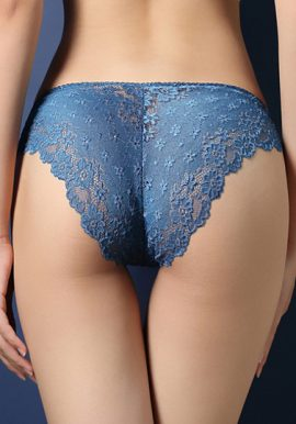 New Look In Bloom Blue Lace Hipster