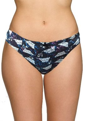 Plus Size Cool Print Cotton Tanga Thong Panty