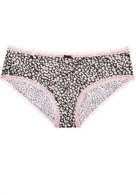 Secret Possessions Simply Styled Plus Size Cotton Printed Panty