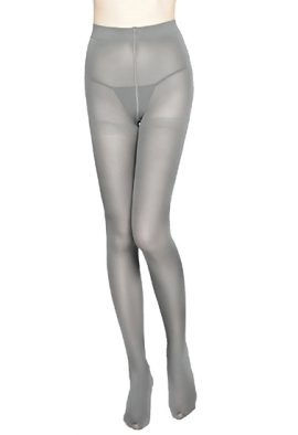 Tierce Light Grey 20 Denier Semi Opaque Pantyhose