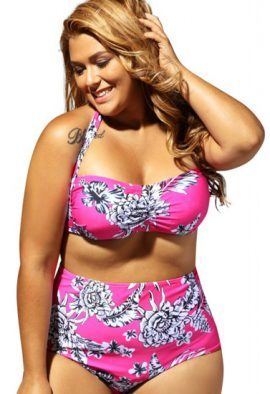 2 Awesome Plus Size Mixed Halter Beach Bra Box