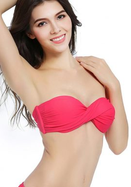 2 Surprising & Stylish Twisted Strapless Beach Bra Box