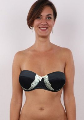 Ladies Full-Figure Wired Strapless Bra
