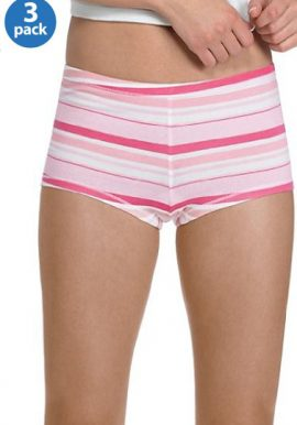 3 Best Quality Assorted Unisex Boyshort Panties