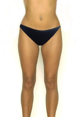 BODY Black Lace Sleek String Bikini Panty