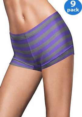 Comfortable Unisex Boyshort Panties Pair Of 9