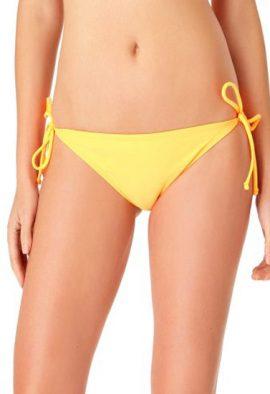 Ladies Yellow Side Tie Bikini Bottom