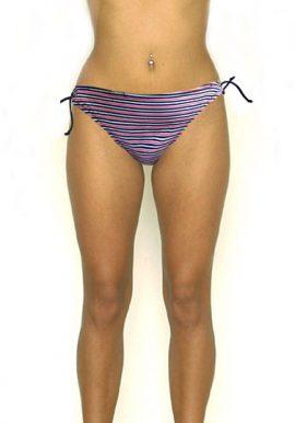 New Lovely Striped Tie Side Bikini Wear Brief