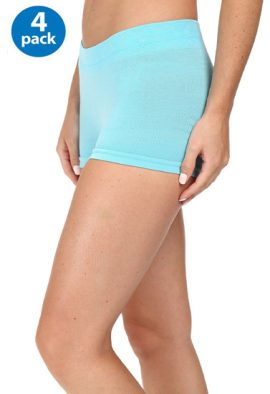 Pack Of 4 Breathable & Fashionable Briefs For Unisex