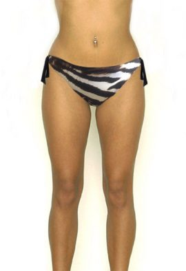 Rae Sexy Animal Print Bikini Bottom At Beach