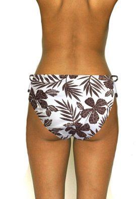 Superb Maui Floral Printed Bikini Bottom