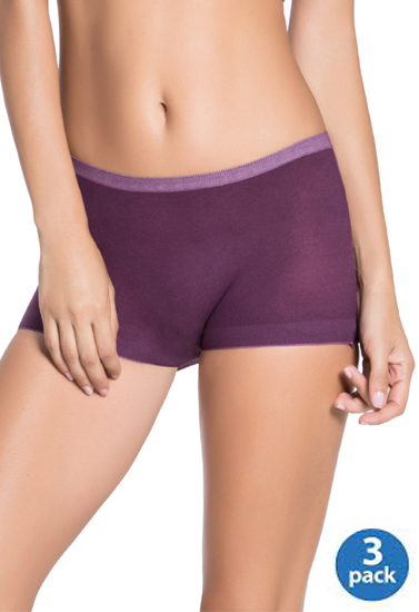 5631274d9f5c Unisex Invisible Boyshort Briefs Pack Of 3 | Snazzy