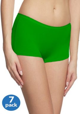 92384e0ec273 Unisex Ultimate Feel Good Boyshort Panties 7 Pair Pack