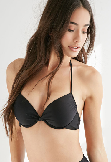 8393ce32ccc Victoria's Secret Darling Twist-Front Push Up Halter Bra