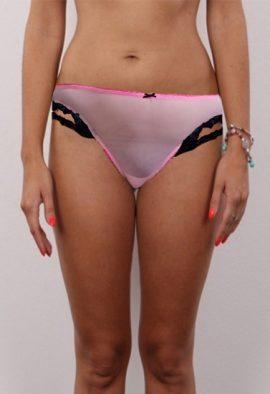 Victoria's Secret Detachable Garters With Lace Thong Panty